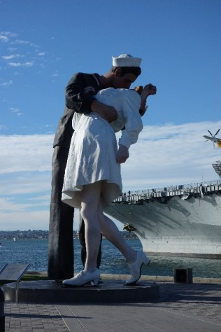 """Unconditional Surrender"" Statue"