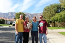New Year's Eve with Kathy and Thom in La Quinta, CA (Photo courtesy of Thom Gottberg)