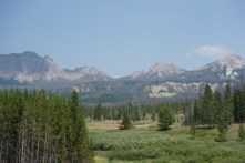 Almost at the Tetons