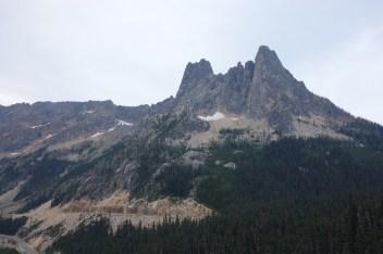 Liberty Bell Mountain, seen from Washington Pass overlook