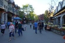 Town center of Whistler