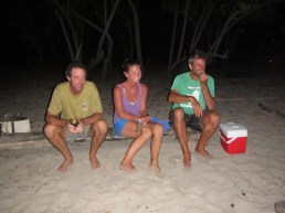 Sun downers at the beach in the Marquesas