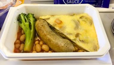 ANA: SIN NRT Premium Ecnonomy Lunch Fritata