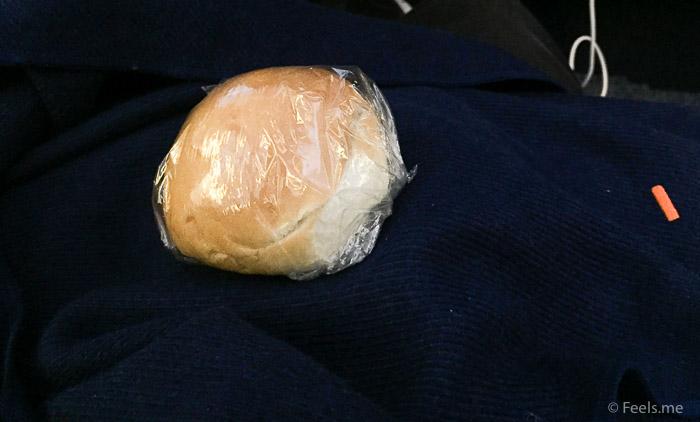 ANA: SIN NRT Premium Ecnonomy Mid flight snack