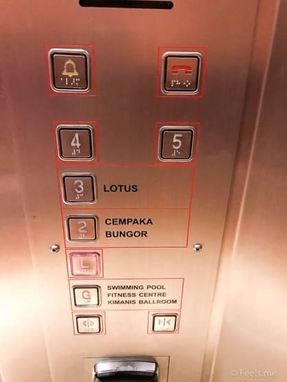 Hyatt Regency Kinabalu, Regency Suite Lift to room