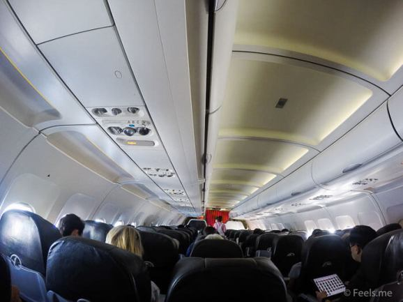 Jetstar 3K 533 Budget Airline 3 3 seat configuration