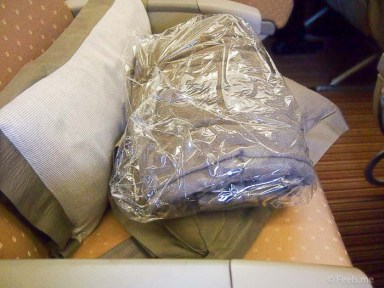 SQ SIN CAN Economy Class Pillow and Blanket