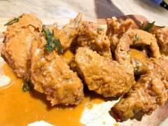 Two Wings' Salted Egg Yolk Fried Chicken Watery Salted Egg Yolk