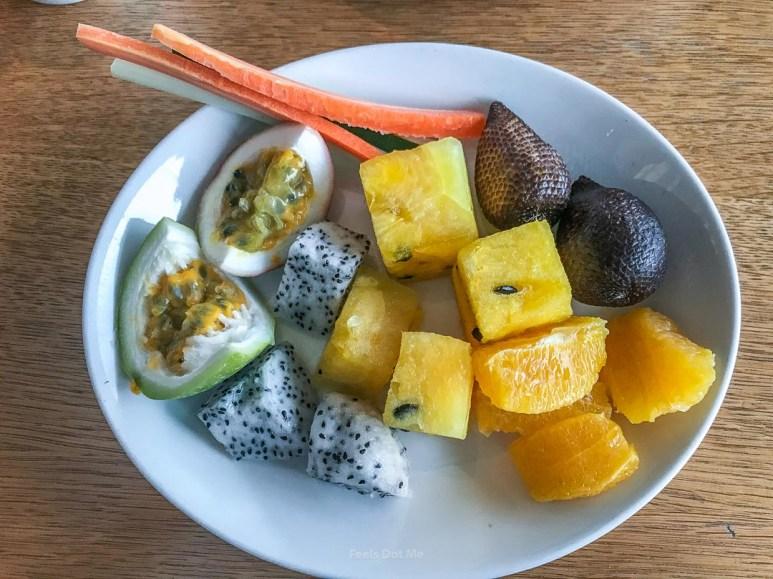 Hilton Kuala Lumpur Grand Executive Suite Breakfast Feast Fruits