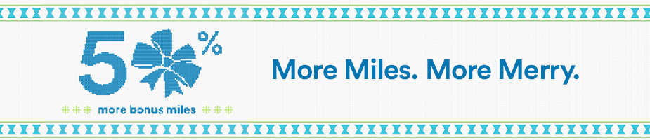 Alaska 50 percent miles offer