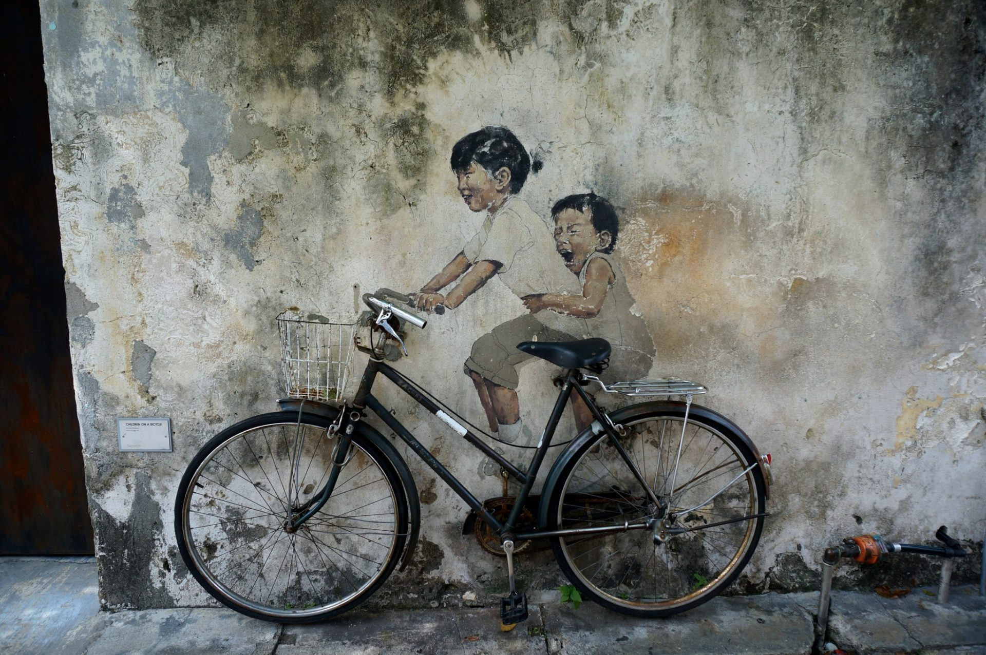 swing chair penang hanging trade me discovering street art clan jetties hashing and food in