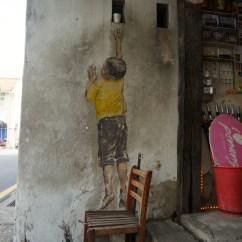 Swing Chair Penang Swivel Rpa Discovering Street Art Clan Jetties Hashing Food In Boy On Mural