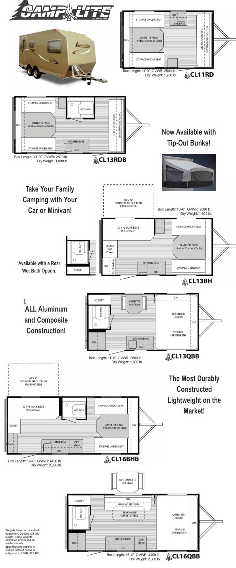 1999 fleetwood rv floor plans