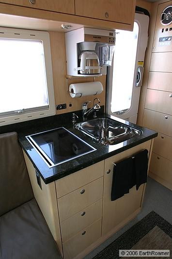bench seating for kitchen table with 8 chairs earthroamer xv-lts f-550 off-road rv | roaming times