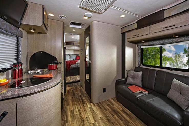 black kitchen storage cabinet white tile 2015 renegade 25qrs villagio class b motorcoach | roaming ...