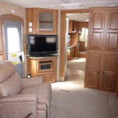 Double Sofa Bed Mattress Sectional Pieces 2011 Jayco Eagle Travel Trailer
