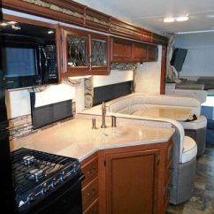 Heavy Duty Kitchen Chairs Make A Island 2015 Four Winds 33sw Super Class C Motorhome | Roaming Times