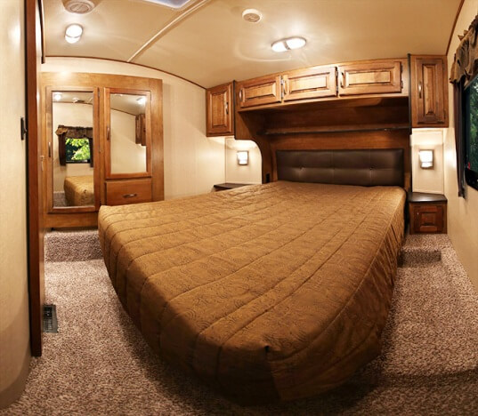 acrylic kitchen cabinets built in seating 2015 grand design reflection 27rl fifth wheel | roaming times