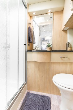leather chairs of bath mid back chair 2015 leisure travel vans free spirit class b motorhome | roaming times