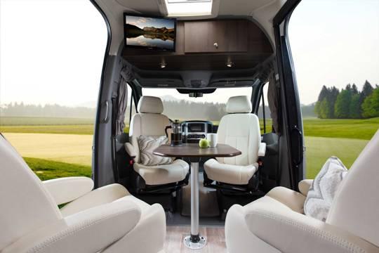 2014 Leisure Free Spirit TE Class B Luxury Motorhome