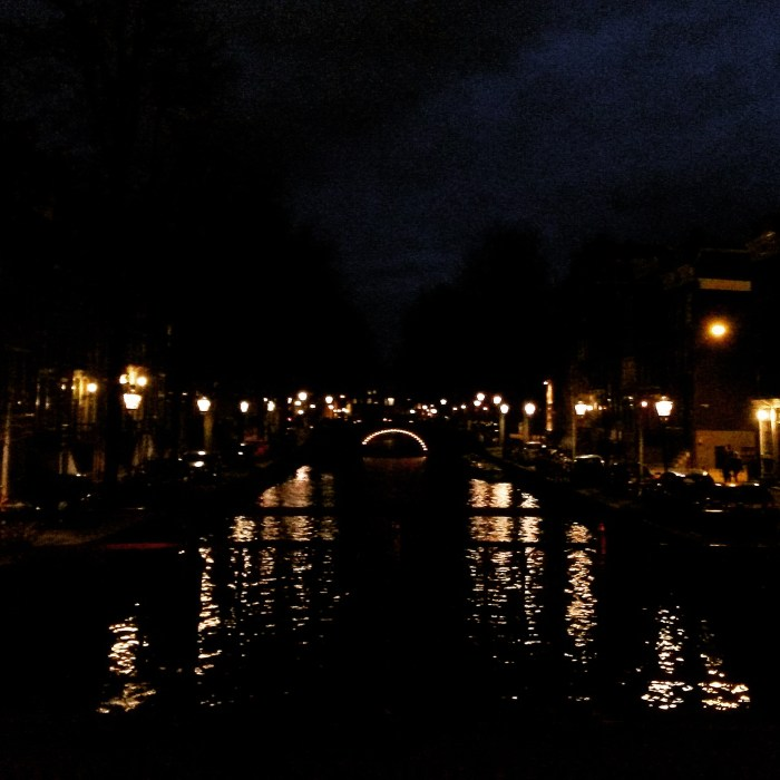 Canals at night - Amsterdam
