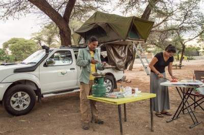 preparing_dinner_4x4_truck_selfdrive