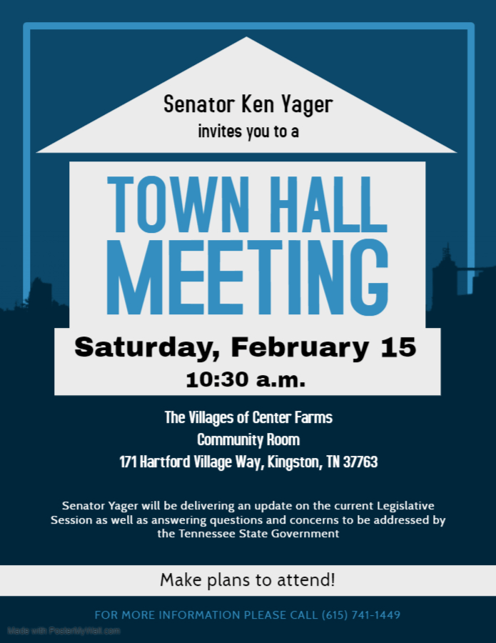 Town Hall with Ken Yager