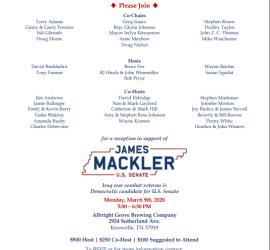 James Mackler visit to Knoxville