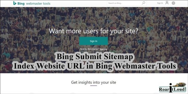 Bing Submit Sitemap, Index Website URL Bing Webmaster Tools