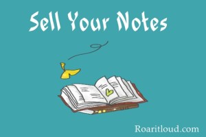 Sell your notes and earn money online