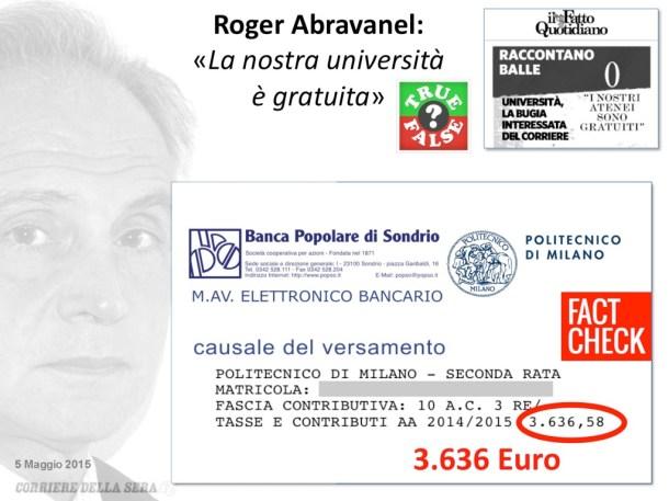 Roger_Abravanel_universita_gratuita_fact_Check