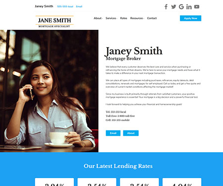 02/08/2021· get 639 business broker website templates on themeforest. Mortgage Broker Templates Mortgage Loan Officer Templates Real Estate Agent Website Themes And Templates