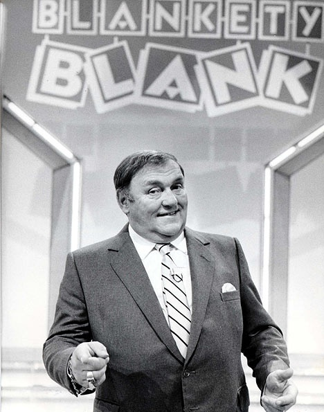 Blogety blog - Les Dawson, Blankety Blank. Rob Gregory Author