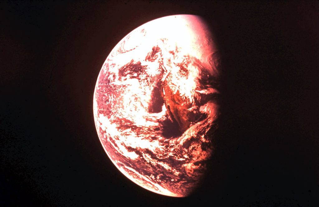 Space - Earth from Apollo 12. Rob Gregory Author