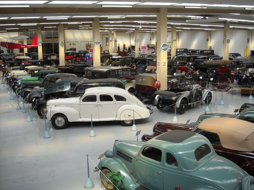 Limousines inside the Southward Car Museum - Rob Gregory Author