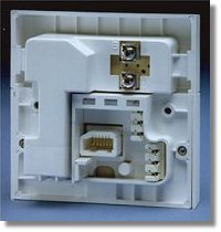 bt master socket 5c wiring diagram system sensor duct detector guide to rewiring internal uk phone rear view of nte5
