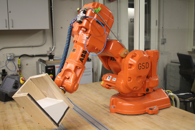 Workshops  RobArch 2012  Robotic Fabrication in