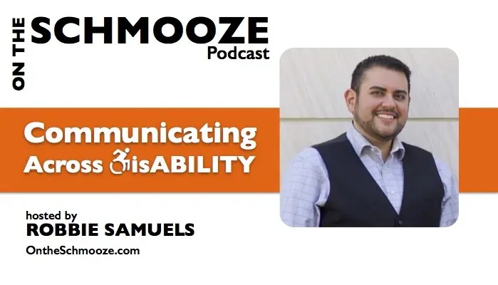 Communicating Across Disability - with host Robbie Samuels