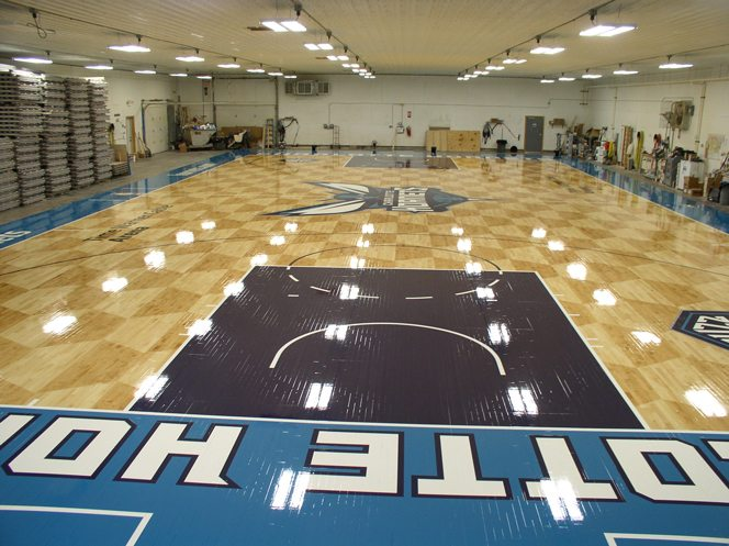 Charlotte Hornets  Robbins Sports Surfaces