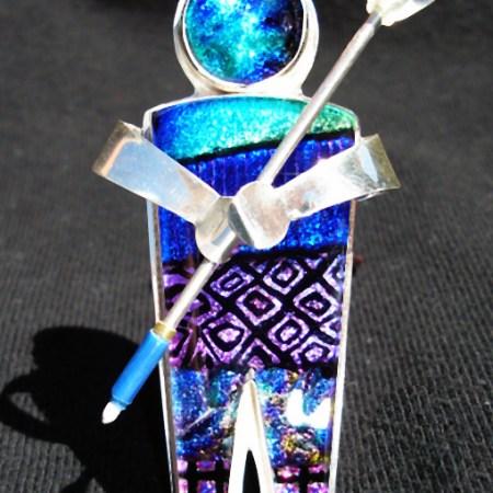 Dichroic Glass Pins