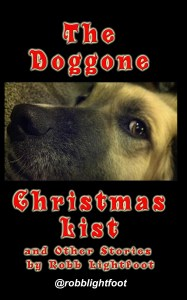 Book cover for The Doggone Christmas List