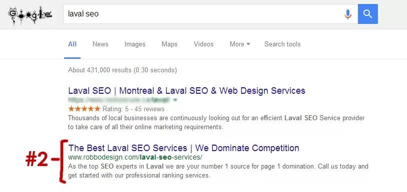 Laval Expert SEO
