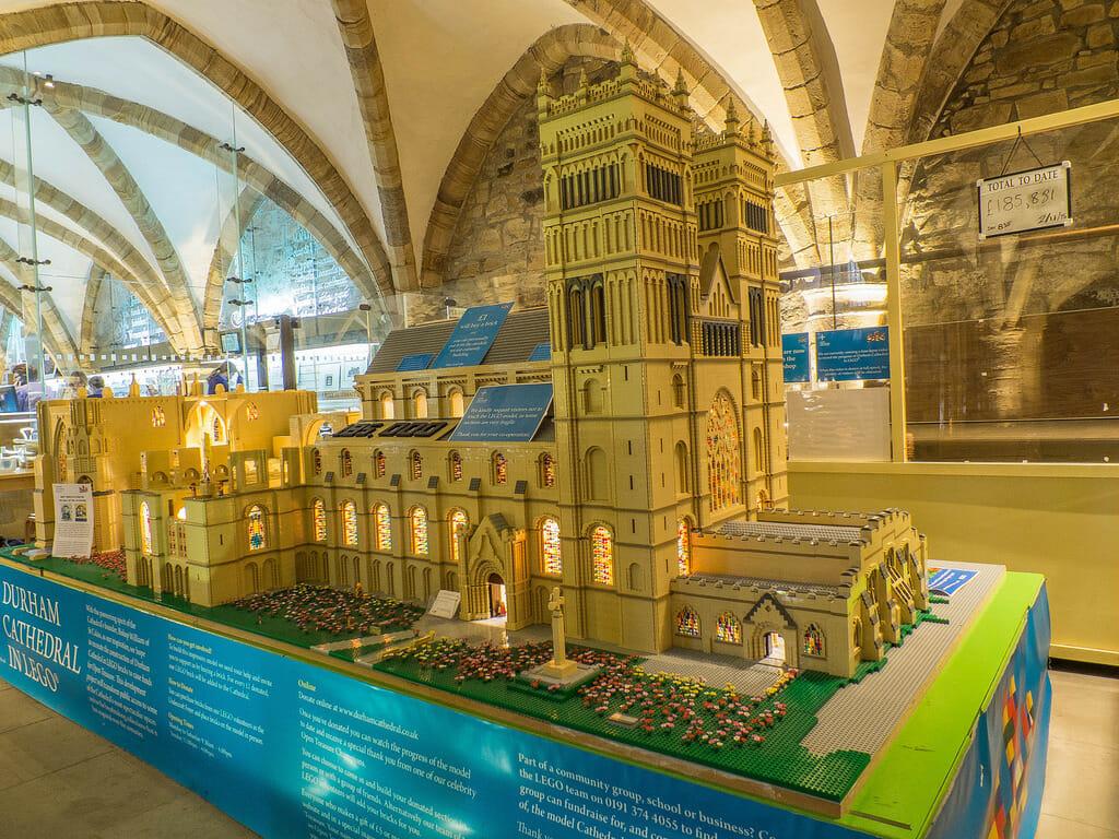Lego Durham Cathedral