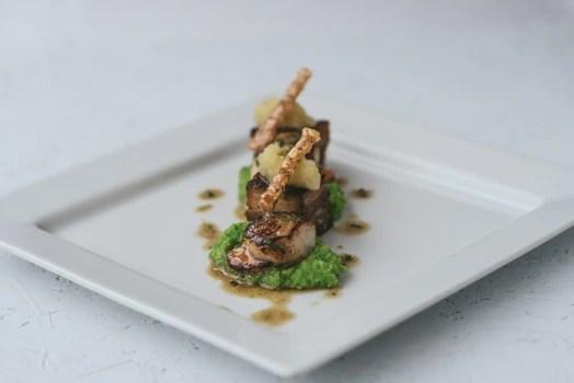 Food Photography Lyme Regis Golf Club