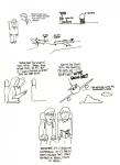 My sketchbook for the flight to BlogWorld in Las Vegas