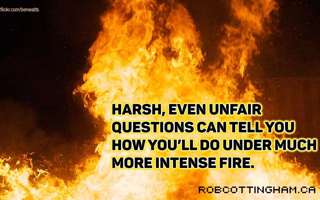 Why leaders should embrace gotcha questions