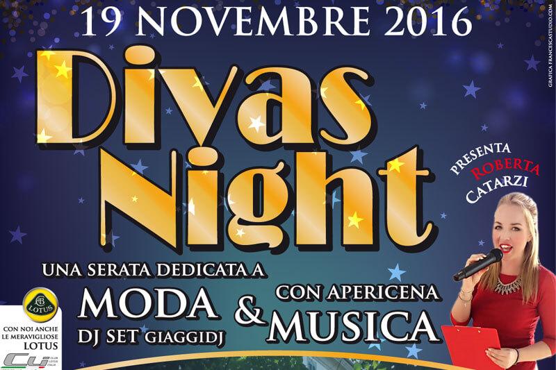 """Presentatrice di """"Diva's Night"""""""