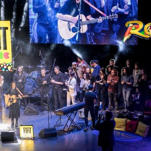 Premiazione FIAT MUSIC contest con RED RONNIE