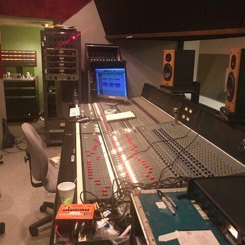 Studio, mixer a Memphis