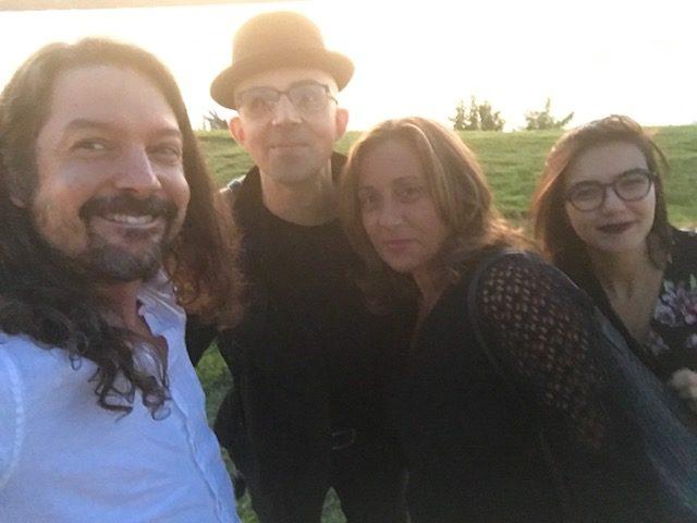 Roberta Finocchiaro, Simona Virlinzi, Stephen Chopek e David LaBruyere a Memphis